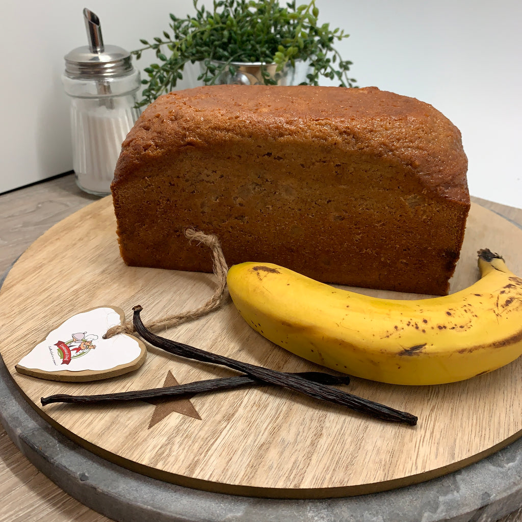 Contented Chef Banana Cake Uncut (12 -15 portions)