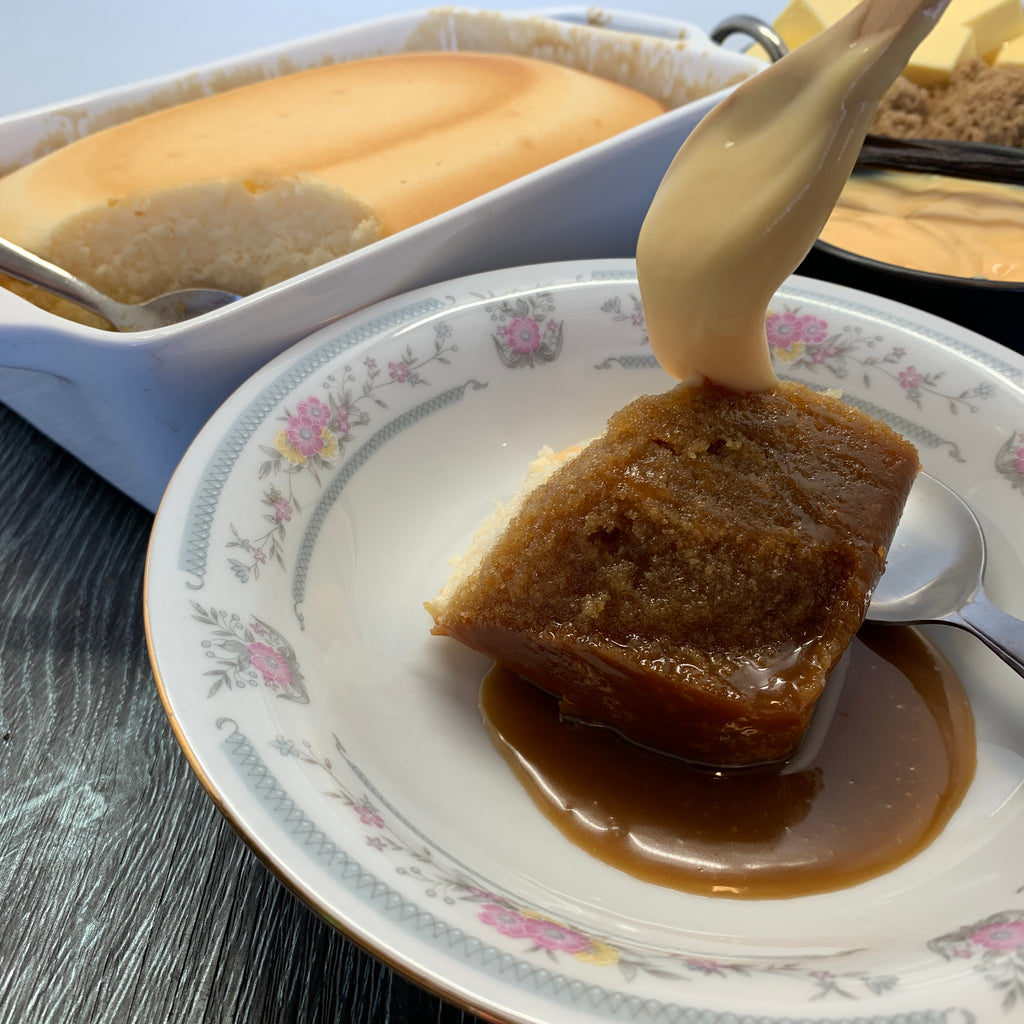 Salted Caramel Pudding (4-6 portions)