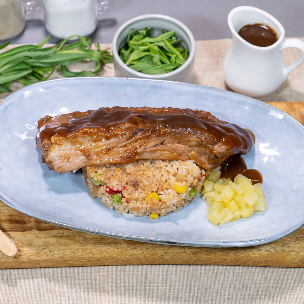 Contented Chef: BBQ pork ribs