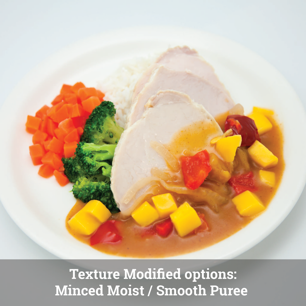 Sweet Mango Pork: Texture Modified (single serve meal)