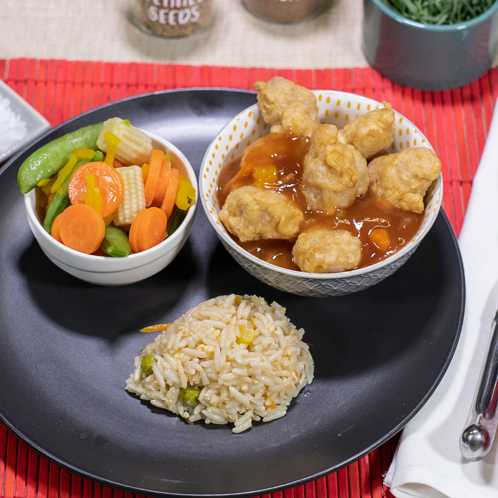 Sweet & Sour Chicken (single serve meal)