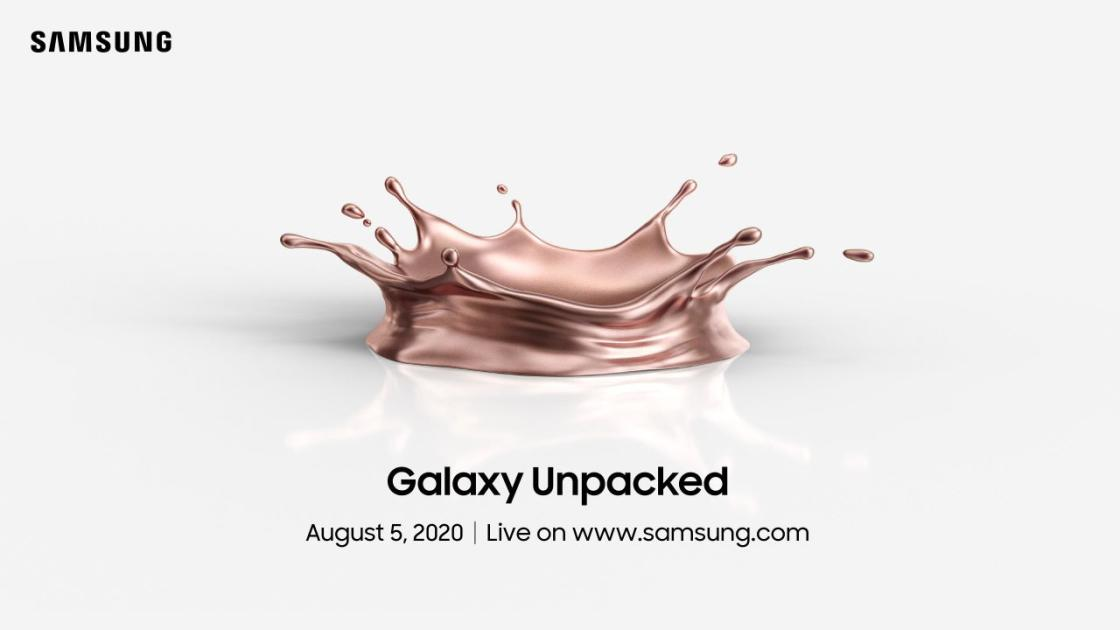 We're expecting to hear all about the Galaxy Note 20 devices and a second-generation Galaxy Fold.
