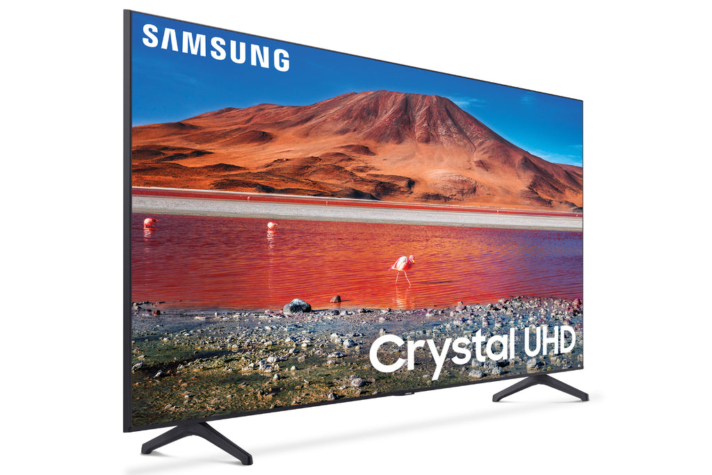 "SAMSUNG 55"" Class 4K Crystal UHD (2160P) LED Smart TV with HDR UN55TU7000 2020"
