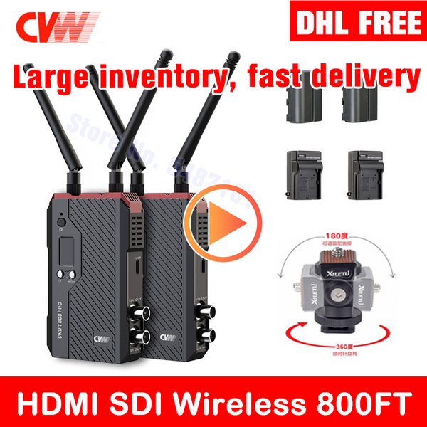 CVW SWIFT 800PRO HDMI SDI wireless 800ft Transmission for Camera Image Wireless cvw swift 800 Transmitter Receiver Mars 300 400S