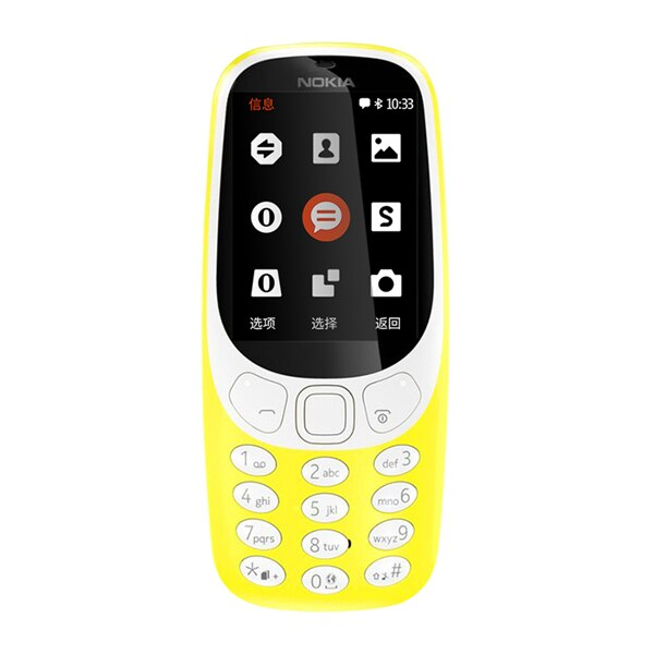 Original Nokia 3310 (2017) 2.4 Inches 2G 2MP Dual SIM Cards Refurbished Unlocked Cellphone
