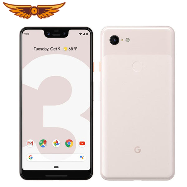DHL Original Google Pixel 3 XL Octa Core 6.3 Inches 4GB RAM 64GB/128GB ROM 4G LTE 12MP Camera Android Unlocked Smartphone