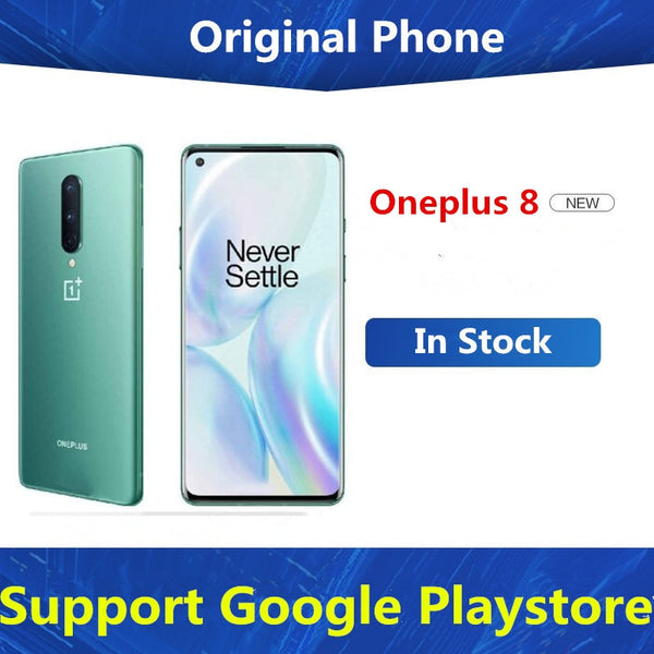DHL Fast Delivery Oneplus 8 5G Cell Phone Snapdragon 865 Android 10.0 6.55