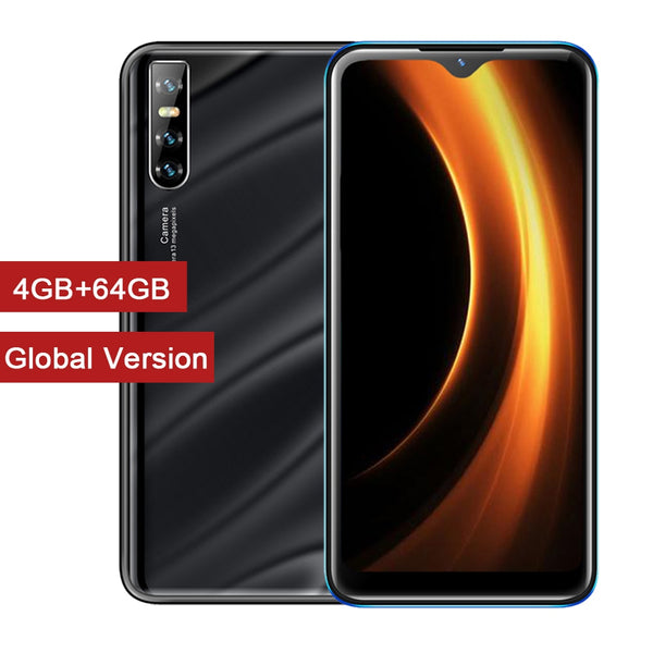 Global Version P30 Pro 4G RAM 64G ROM Quad Core Face ID Unlock Mobile Phones Android 5.1 13MP Rear Camera Smart phones WCDMA/GSM