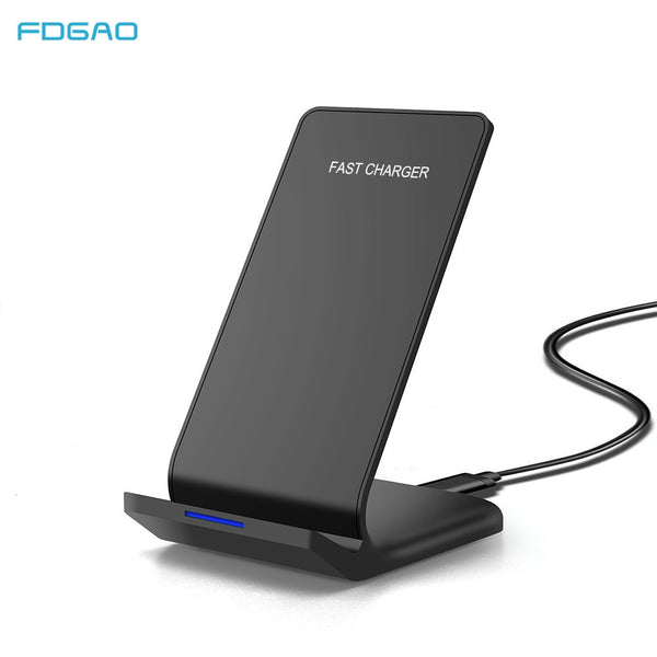FDGAO Qi Wireless Charger For iPhone 11 8 X XS XR USB C Quick Charger 15W 10W Fast Charging Stand For Samsung S20 S10 Xiaomi 10