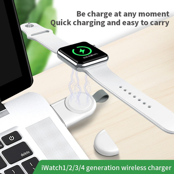 2W Apple Watch Wireless Charge for iWatch Series 4 3 2 1 Mini Portable USB Cables Wireless Chargers Station for iPhone Charging