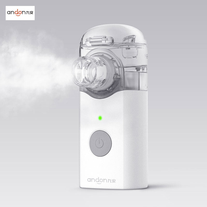 Xiaomi Andon Portable Micro-atomizer Nebulizer Mini Handheld Inhaler Respirator for Children and Adult Cough Treat (Micro-atomizer)