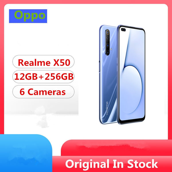 In Stock Realme X50 5G Smart Phone 6.57