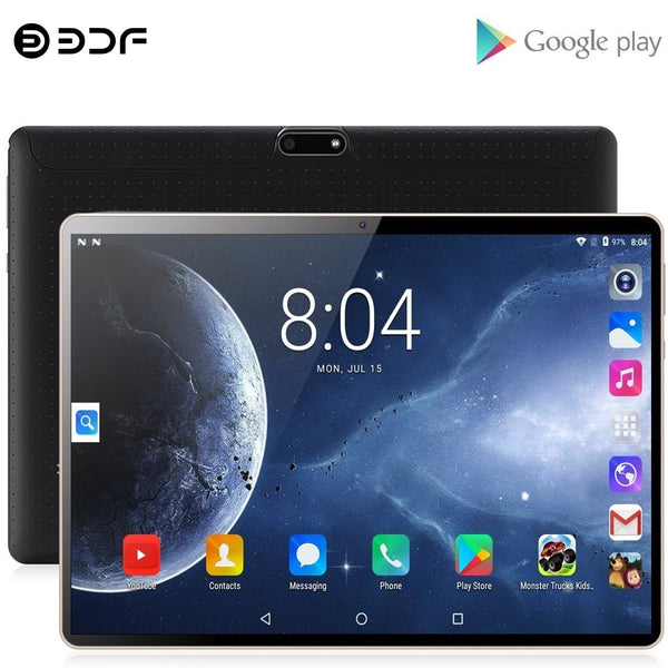 New 3G Phone Call Tablet Pc 10 Inch Android 7.0 Google Tablets Quad Core Dual SIM Cards Google Play GPS Bluetooth WiFi 10.1 inch