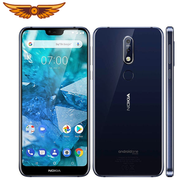 Original Unlocked Nokia 7.1 Octa-core 5.84 Inches 3GB RAM 32GB ROM 12MP LTE Single SIM Android Smartphone Fingerprint Cellphone