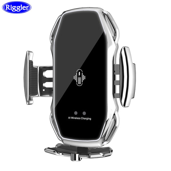 Magnetic Car Wireless Charge Holder Universal for Phone A5S Fast Charge Mount Air Vent Clip Charger