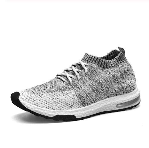 Xiaomi Mijia Sneakers Men's Outdoor Shoes Light Breathable Knitting Male Running Shoes Size 39-46 Smart Sporting Shoes Dropship