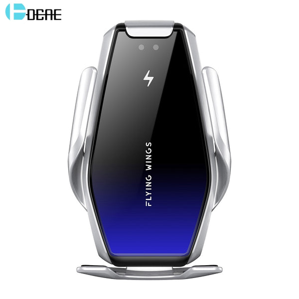 DCAE 15W Car Qi Wireless Charger Automatic Clamping for iPhone X 8 XR 11 Pro XS Samsung S20 S10 S9 Air Vent Mount Phone Holder
