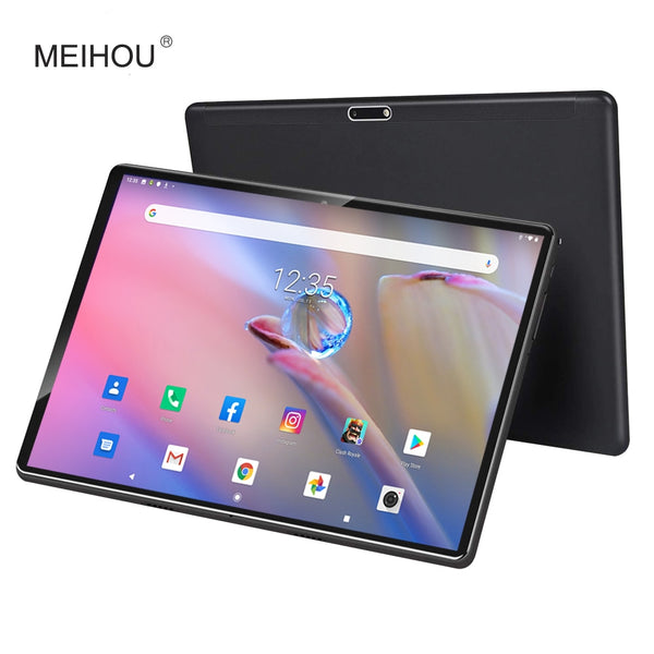 2020 10 inch Tablet Pc Android 9.0 Google Play Octa Core 4G LTE Tablets 5g WiFi GPS 2.5D Tempered Glass 10.1 inch Tab +Gifts