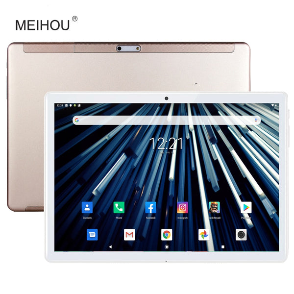 New 10 inch Tablet Ultra Slim 2 GB RAM 32GB ROM 2.5D Large Screen Tempered Glass 5.0M Dual Camera Android 9.0 OS Tablet 10.1