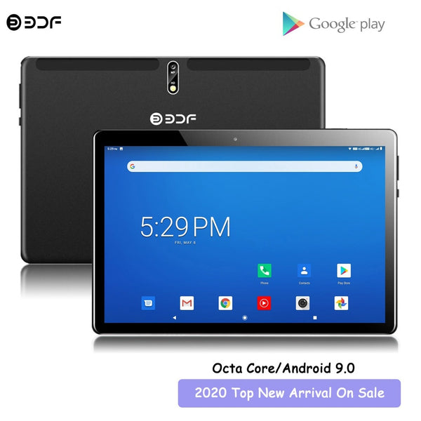 New Arrival 10.1 inch Tablet Pc Octa Core 4G LTE Phone Android 9.0 Brand Google Play Dual SIM Card WiFi Bluetooth GPS Tablets