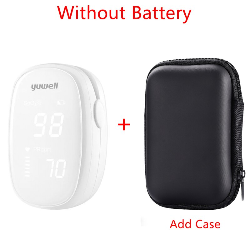 Original Xiaomi Yuwell YX102 Digital Fingertip Pulse Oximeter LED Screen Care for Health High-speed Sensor Auto Power Off