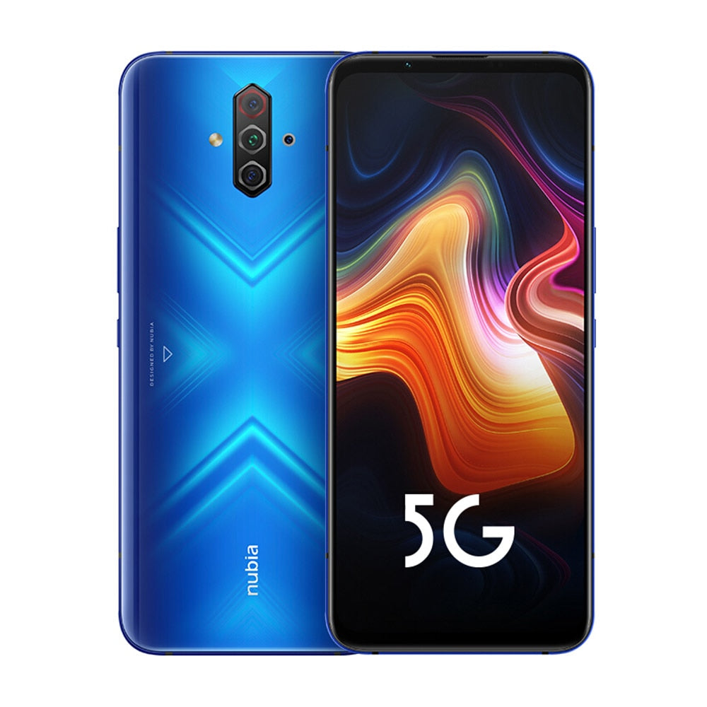 Brand New Nubia Play 5G Game Phone 8GB RAM 128GB ROM 6.65 inch AMOLED 144Hz Screen  Snapdragon 765G 5100mAh 30W PD Quick Charger