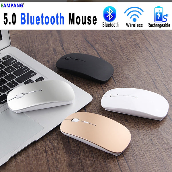 5.0 Bluetooth Wireless Mouse for Apple Macbook Air Xiaomi Pro Mouse For Huawei Matebook Laptop Notebook Computer iPad Tablet