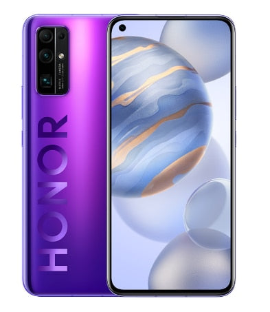 Original New Honor 30 Mobile Phone 6.53 inch 6G RAM 128G ROM Kirin 985 Octa Core Android 10 50x Digital Zoom 40MP 5G Smartphone