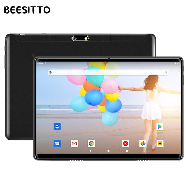 2020 Newest 10 inch Tablet PC Fast CPU Android 9.0 OS 32GB ROM 2.5D Tempered Glass WiFi Bluetooth Android Tablets планшет 10.1