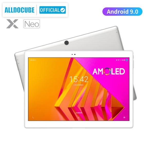 ALLDOCUBE X Neo AMOLED Screen Tablet 10.5 inch  Android 9.0 4GB 64GB 2.5k 2560×1600 IPS Dual SIM LTE 4G Tablet PC Bluetooth 5.0