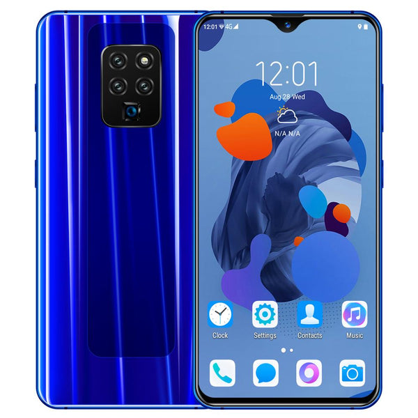 Cectdigi Mate 35 3D Glass Back Cover 5MP 2MP 6.3 inch 3000mAh Android 5.1 2G+16GQuad core 2SIM Drop screen  Face ID Unlock Phone