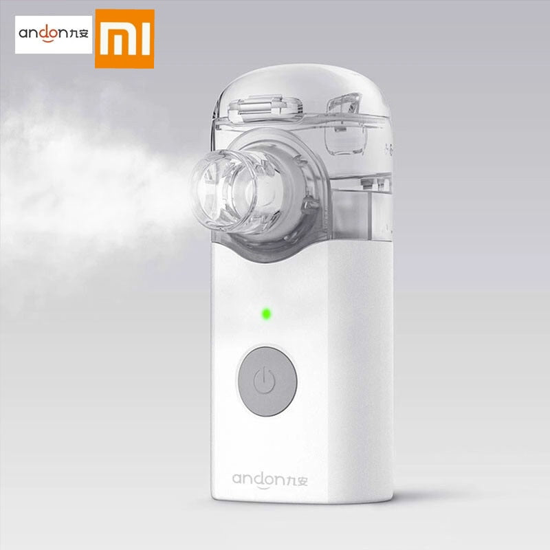 Xiaomi Andon Portable Micro-atomizer Nebulizer Mini Handheld Inhaler Respirator for Children and Adult Cough Treat