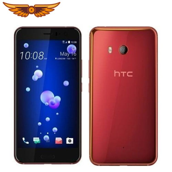 DHL Free Shipping HTC U11 Octa Core 5.5Inch LTE 4GB RAM 64GB ROM 1080P 16.0MP Camera Snapdragon 835 Dual SIM Original Unlocked