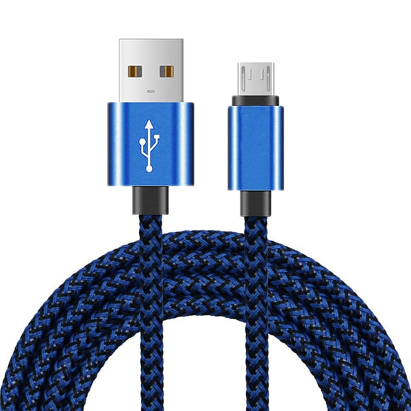 Android Micro USB Charging Cable for Xiaomi 3 4 Redmi 7 Note 4X 5 5A 6 6A Samsung S6 S7 Edge Honor 6 7X 8C 9i Data Charger Cable