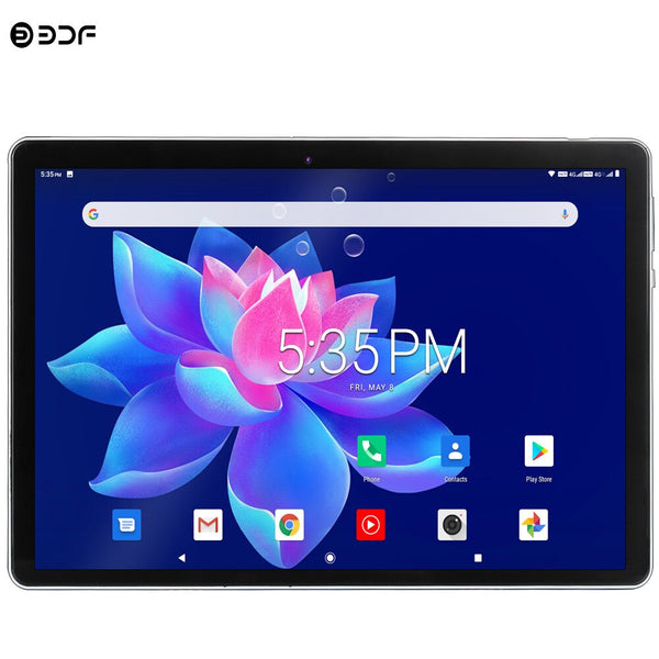 New 4G LTE Tablets 10.1 Inch Octa Core Android 9.0 Google Play Tablet Pc 3g 4g Phone Call WiFi GPS Bluetooth 2.5D Glass Screen