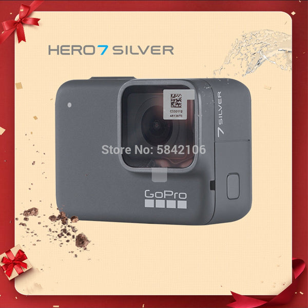Original GoPro Hero 7 Silver Special Bundle Action Camera Go Pro Hero7 Sport Cam 4K 30fps 1080P60