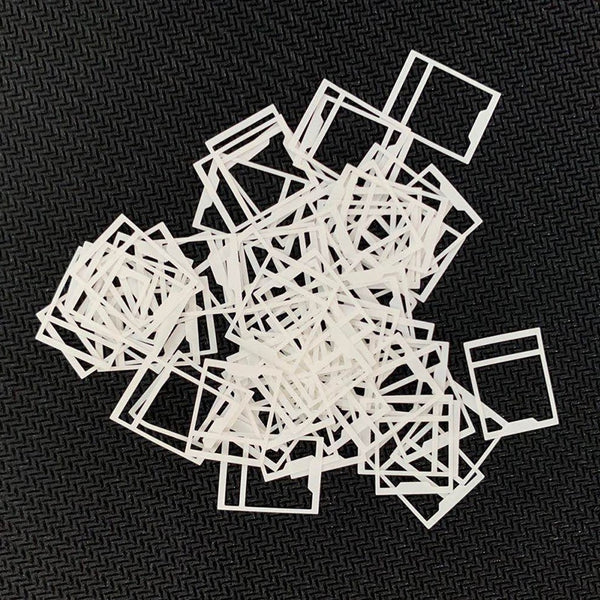 Switch Film for Mechanical Keyboard Switches Films for Repair Switch Paper Switch Label Paper 120pcs 1 Pack