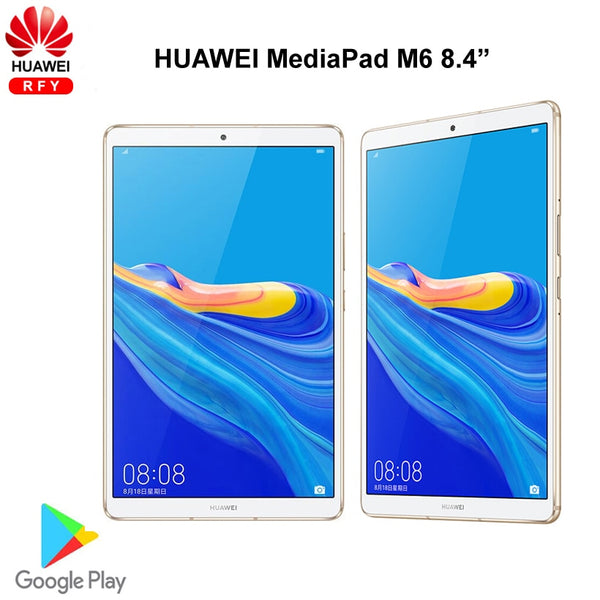 Original Huawei Mediapad M6 8.4 inch 6GB 128G WIFI tablet PC Kirin980 Octa Core Android 9.0 Google play 6100mAh Type-C 2560x1600