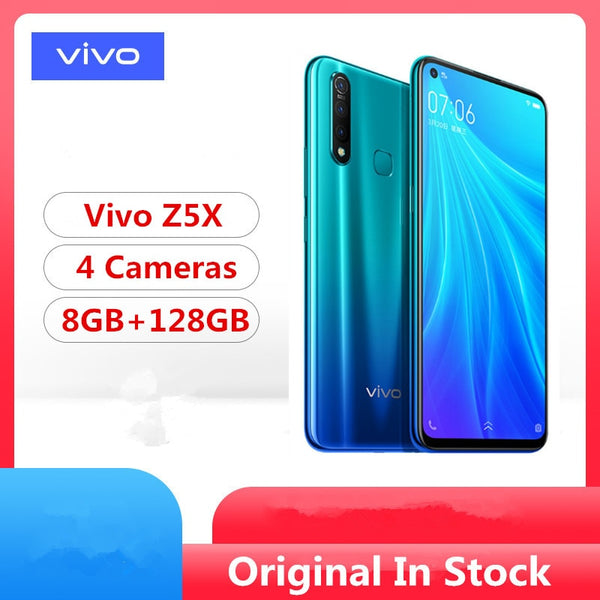 DHL Fast Delivery Vivo Z5X Cell Phone Snapdragon 710 Android 9.0 6.53