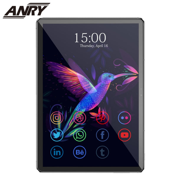 ANRY S20 4G Phone Call Tablet Deca Core 11.6 Inch IPS 1920X1080 Android 8.1 4GB RAM 128GB ROM Tablet PC With AN80 Touch Keyboard (Add Touch Keyboard Black)