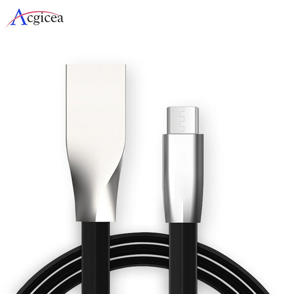 1m/2m Micro USB Cable 2.4A Fast Charge USB Data Cable for Samsung Xiaomi Huawei LG Tablet Android Mobile Phone USB Charging Cord