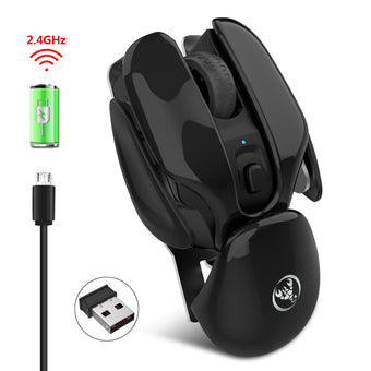 New Mute Rechargeable Fashion 1600 DPI Mouse 2.4G Wireless Opto-electronic Mice For Macbook Laptop Computer Home Working Gaming