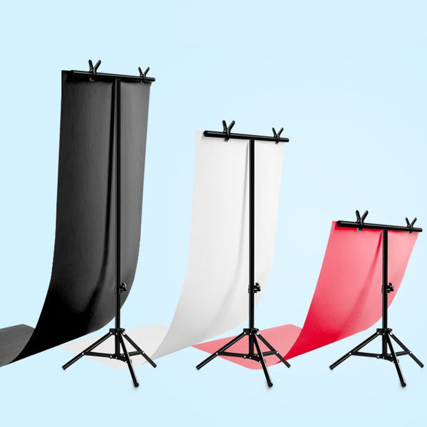 Photo Backdrop Stand Photo Studio Background Support big PVC Background Holder Photo Stand 110X57CMCM (57X110CM)