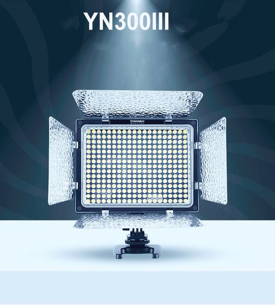 Yongnuo YN300 III YN-300 III 3200k-5500K CRI95+ Pro YN300III LED Video Lights Support AC Adapter & Remote Control APP Control