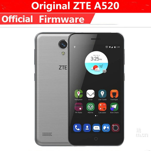 Original ZTE Blade A520 4G LTE Mobile Phone MTK6735 Android 6.0 5.0