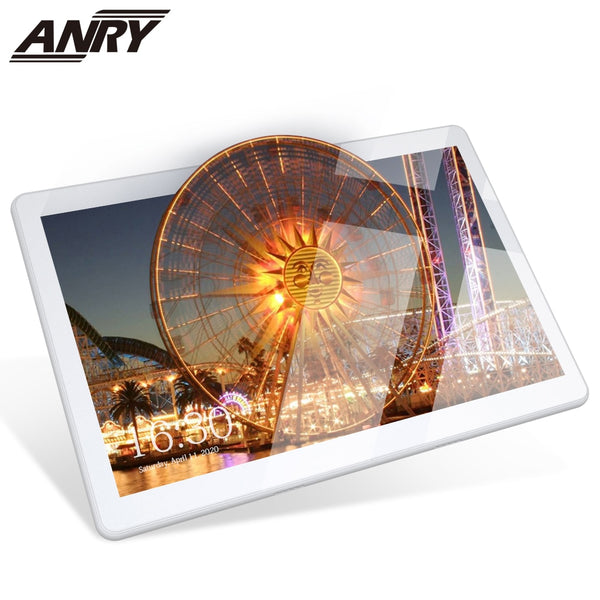 ANRY 10.1 Inch Touch Tablet Quad Core 2GB RAM 32GB ROM Dual Sim Card Android 8.1 WiFi GPS Bluetooth Tablet PC For Game