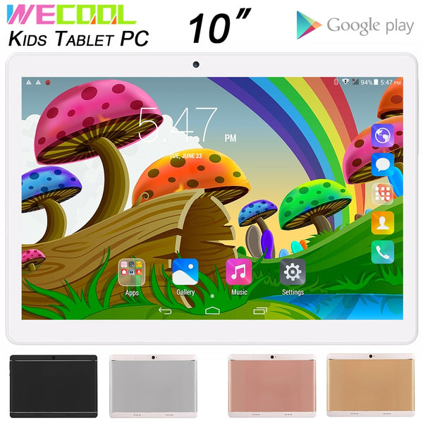 10 inch WeCool M102 Android Kids Tablet PC 16GB with 3G Network Preinstalled lots of Kids Educational Games Children Games MID