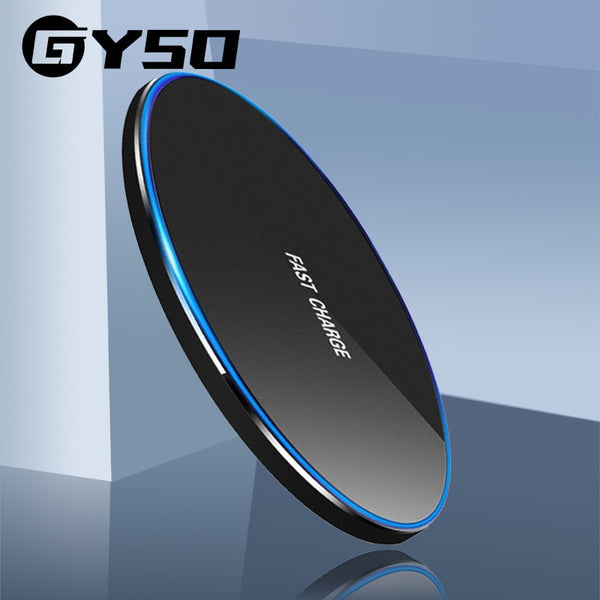 GYSO Qi Wireless Charger Pad 20W Fast Charging for Samsung S20 S10 Note 10 iPhone 11 Pro Xs Max X 8 Plus Wireless Quick Charge