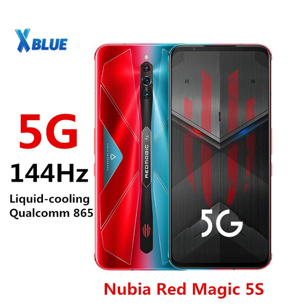 Global version Nubia Red magic 5S Mobile phone 144Hz Screen refresh rate 6.65