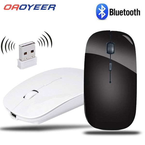 2.4G Computer Wireless Mouse with USB Receiver Laptop Notebook Ultra Thin Mouse USB Optical Mice For Laptop PC